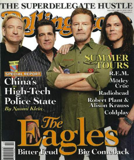 Eagles On The Cover Of New Rolling Stone!
